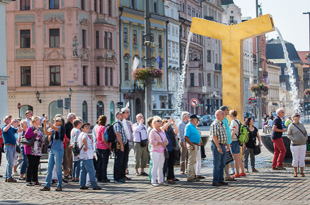 Pilsen Information Centre Organized the 1000th Guided Tour this Year