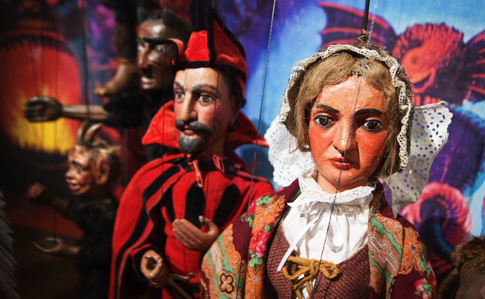 Visit the Puppet Museum in Pilsen.