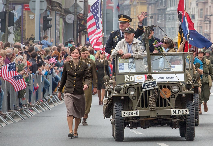 Liberation Festival in Pilsen commemorates the heroes of the last days of second world war.