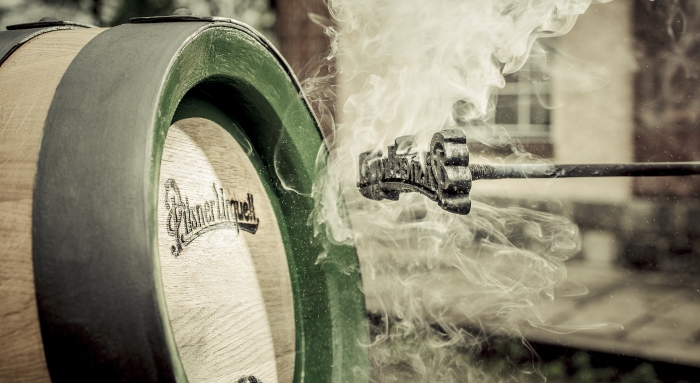 You can admire the art of coopering year-round at special brewery events.