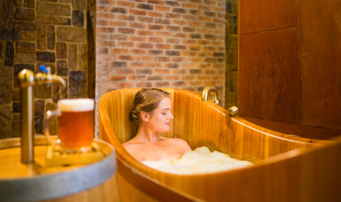 The Purkmistr Beer Spa in Pilsen is famous with delicious beer and beer baths.
