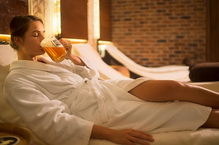 Enjoy Relax and Wellness in the Beer Spa