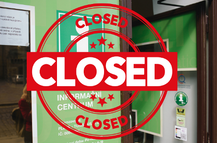 The majority of tourist sites in Pilsen is closed, events cancelled