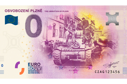 75th Anniversary of Liberation of Pilsen to Be Commemorated by Special Banknotes and Online Programme